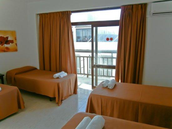 Hotel Galera: habitacion 3 pax
