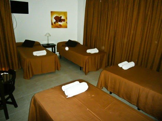 Hotel Galera : Habitacion cuadruple