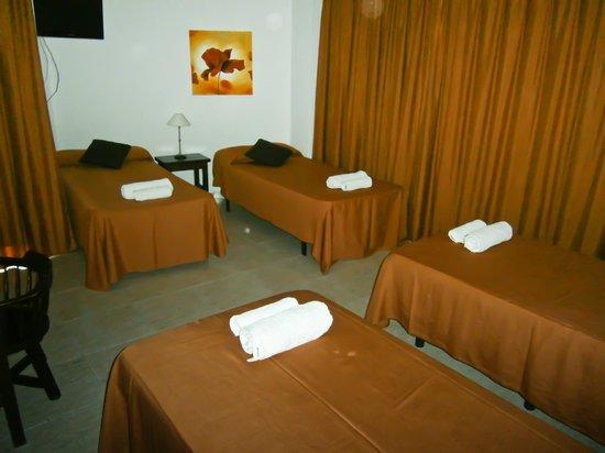 Hotel Galera : habitaion 4pax