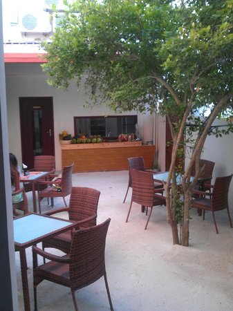 Sun Tan Beach Hotel : spazio breakfast
