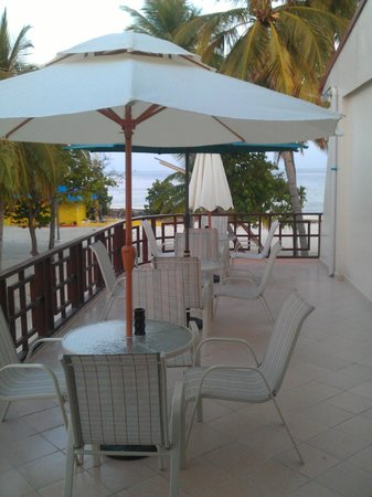 Sun Tan Beach Hotel : terrazza breakfast
