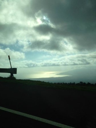 Haleakala Crater: from the road