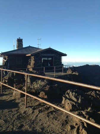 Haleakala Crater: upper visitors center
