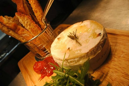 The Queens: Oven Roasted Camembert to Share