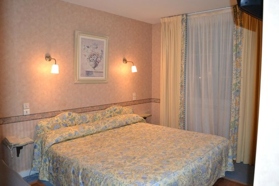 Hotel le Castel : Chambre double standard