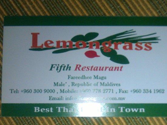 Lemongrass Fifth : ticket