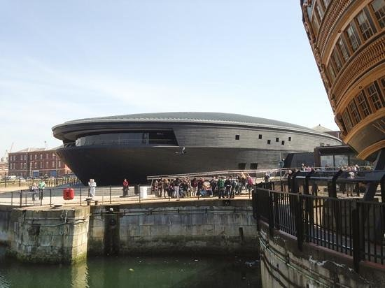 The Mary Rose Museum, Portsmouth Historic Dockyard: An Impressive View