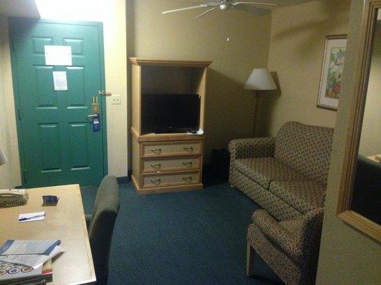 Baymont Inn & Suites Fort Myers Airport: TV im Wohnbereich