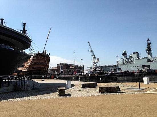 The Mary Rose Museum, Portsmouth Historic Dockyard: Three Naval Era's