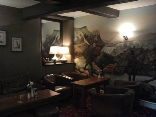 Charles Cotton Hotel: Hotel bar and bistro