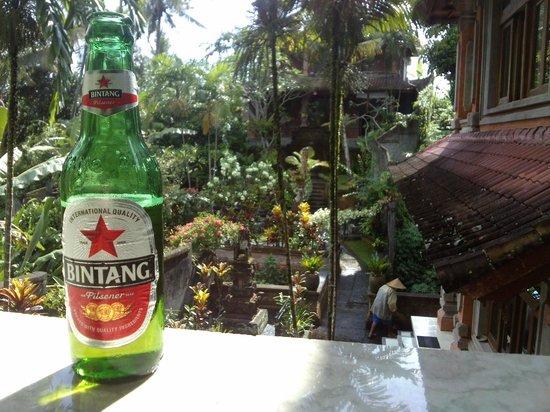 Ubud Terrace Bungalows: Blick von der Zimmerterrasse