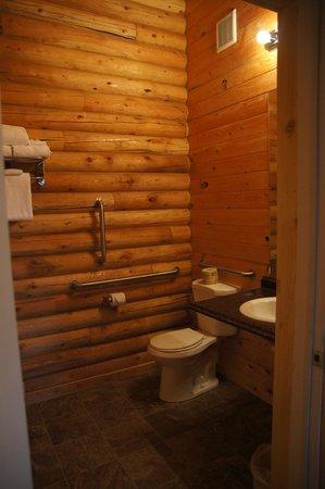 Bryce Canyon Log Cabins: bathroom