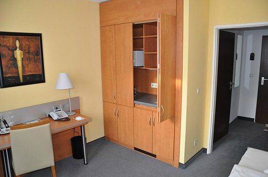 GHOTEL hotel & living Munchen-City: Мини-кухня