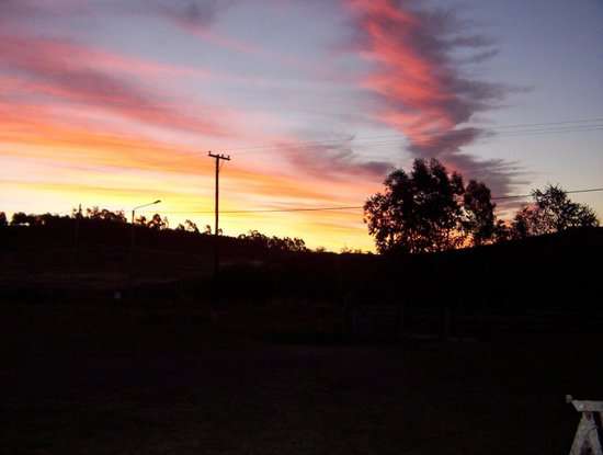 cabanas Luna Lunera: Atardecer