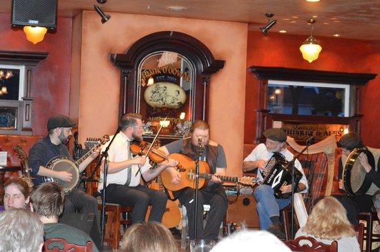 Frank O'Dowd's Irish Pub: Andreas Transo and Bí Dána at an  Irish Céilidh