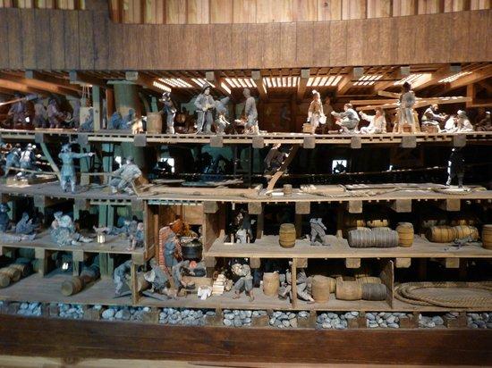 Musée Vasa : Arbeitsbedingungen...
