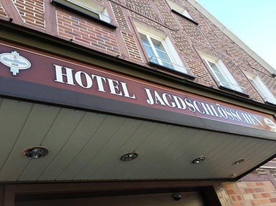 Jagdschloesschen Hotel: gate
