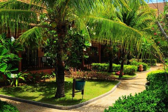 Lanta Casuarina Beach Resort : Lanta Casuarina - Les jardins