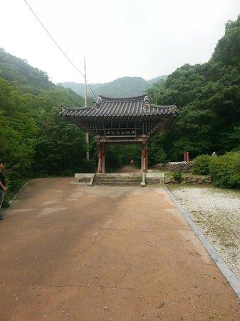 Muju-gun, Korea Południowa: 마음이 맑고 씻어지는 것어요.
