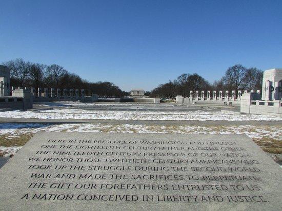 National World War II Memorial: Memorial Segunda Guerra