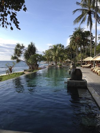 Qunci Villas Hotel: One of the beautiful pools
