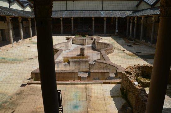 Villa Romana del Casale: Peristyle