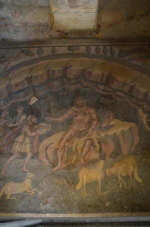 Villa Romana del Casale: Ulysses & Polyphemus