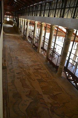 Villa Romana del Casale: Hunting scene corridor
