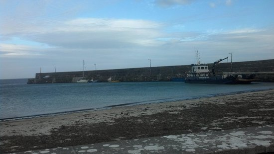 Galway Bay Fishing: at the dock