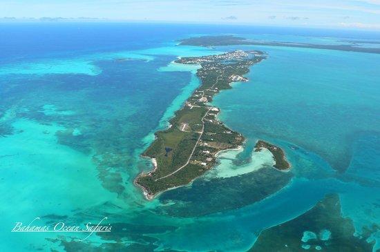 Russell Island Looking East To Spanish Wells Bahamas