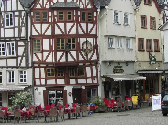Limburg, Tyskland: Outdoor seating
