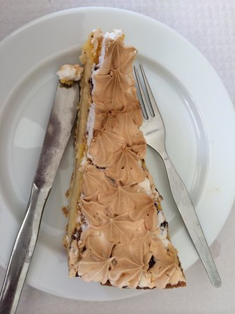 Cafe Central: Tarte de limão merengada....