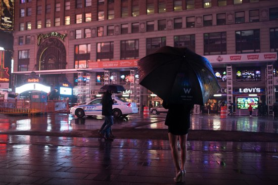 W New York - Times Square: Concierge umbrella from the W Hotel