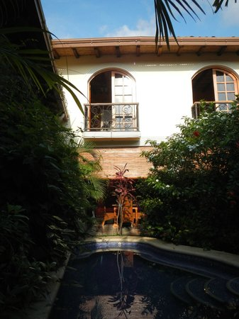 Casa Cubana: Our room from the pool