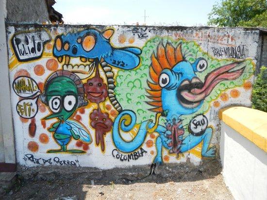 Casa Cubana: grafiti