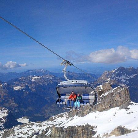 Mount Titlis: Ice flyer