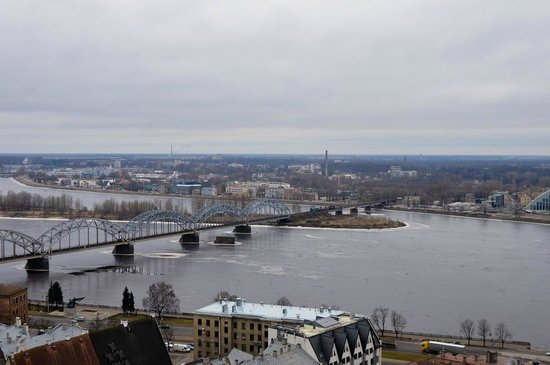 View of Riga from St Peter's Church Tower: Виды