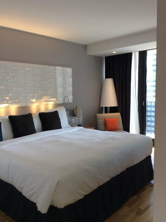 Radisson Blu Aqua Hotel : room