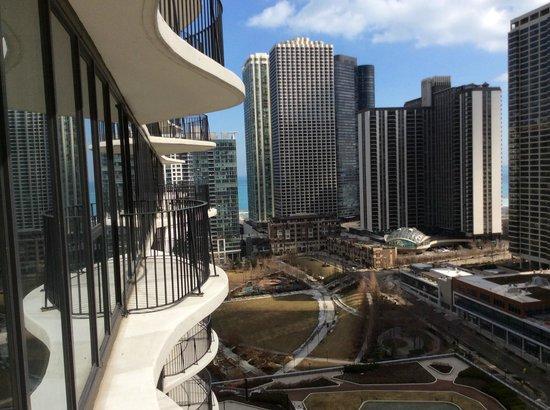 Radisson Blu Aqua Hotel : balcony