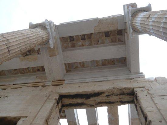 Acropole : ceiling restoration work
