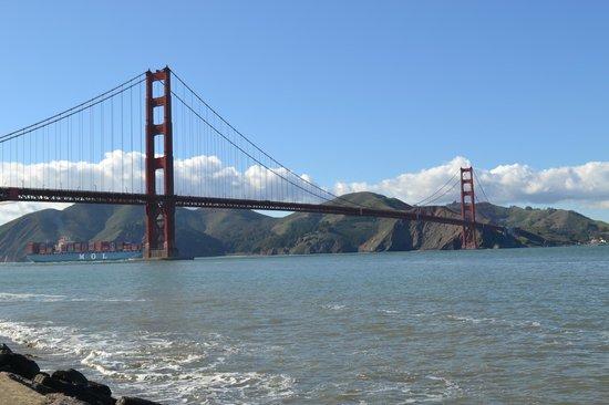 Crissy Field : Great views of Golden Gate