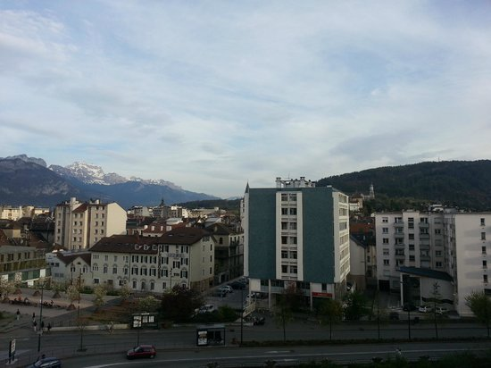 Adagio Annecy Centre : Room with a view