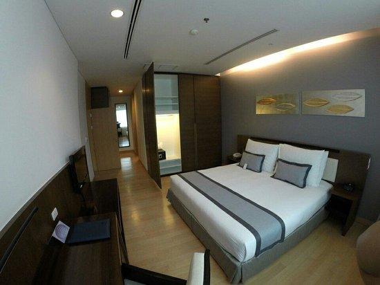 Shama Sukhumvit Bangkok : Master bedroom