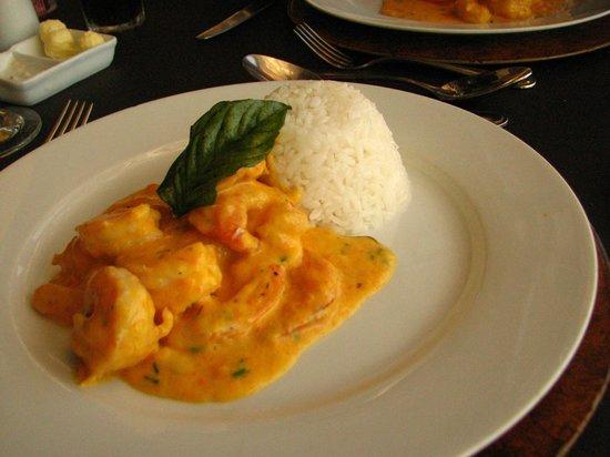 Giratorio Restaurant: Almoço com camarões
