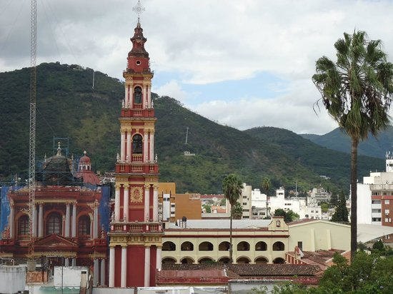 Hotel Salta: Beautiful view from my room