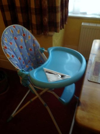 Langton House: My son's 'personal' spot at breakfast