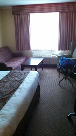 Best Western of Lake George: Another shot of king room