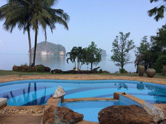 Kaleane Villas : view of the sea