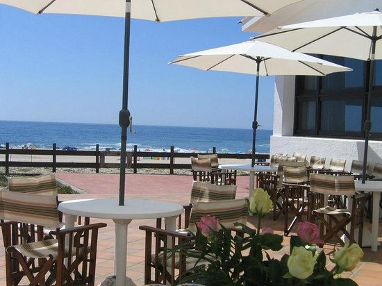 Hotel Santo Andre: Esplanada sobre as dunas