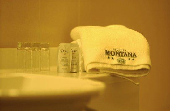 Hotel Montana: Bad